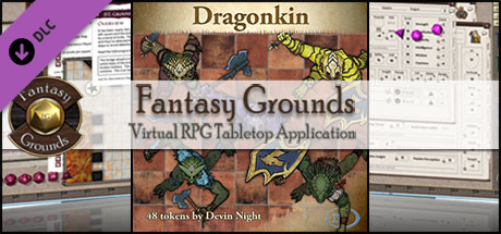 Fantasy Grounds - Dragon Kin (Token Pack)