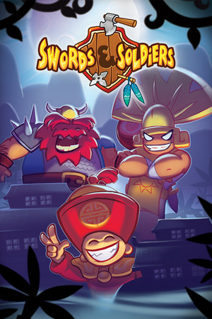 Swords and Soldiers HD poster image on Steam Backlog