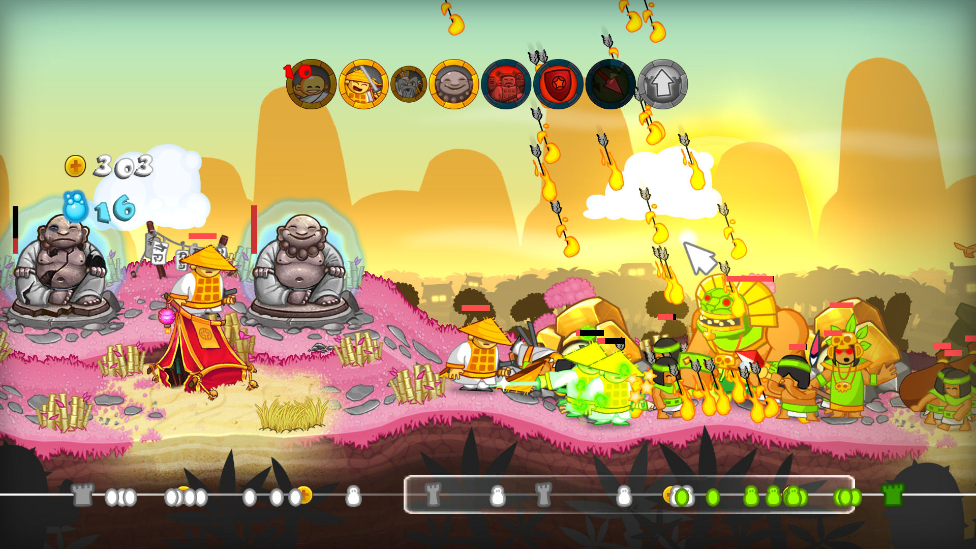 Swords and Soldiers HD is free for a limited time