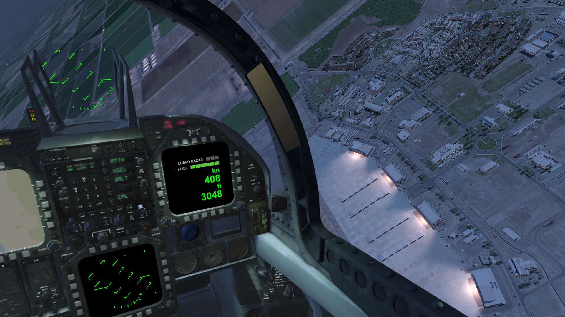 Blue Angels Aerobatic Flight Simulator
