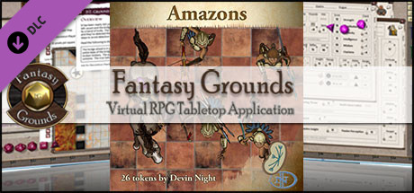 Fantasy Grounds - Amazons (Token Pack)