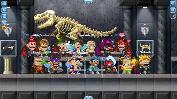 Pixel Worlds: MMO Sandbox 3