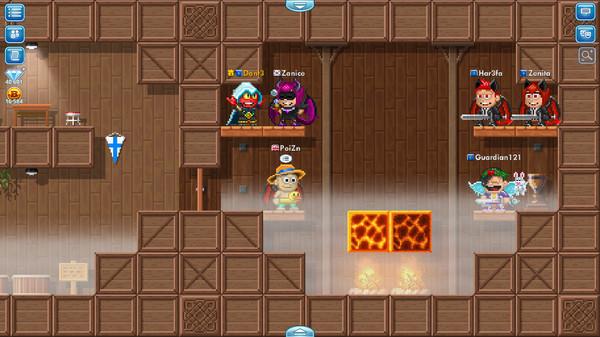 Pixel Worlds: MMO Sandbox 9