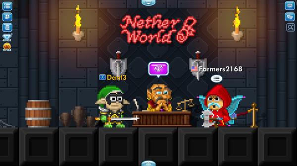 Pixel Worlds: MMO Sandbox 6