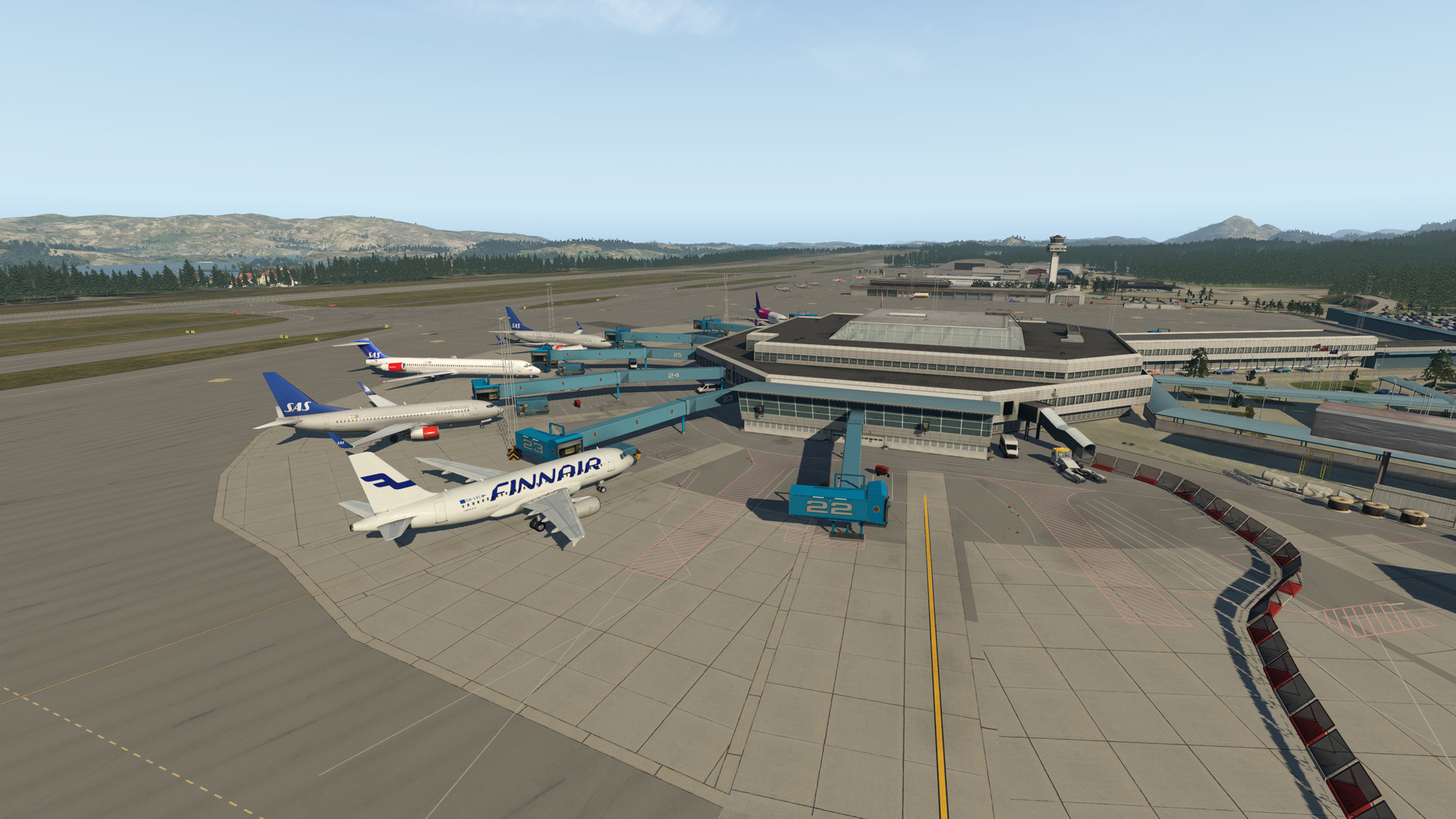 X-Plane 11 - Add-on: Aerosoft - Airport Bergen