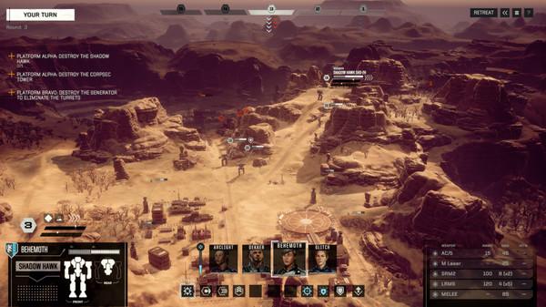 скриншот BattleTech 2