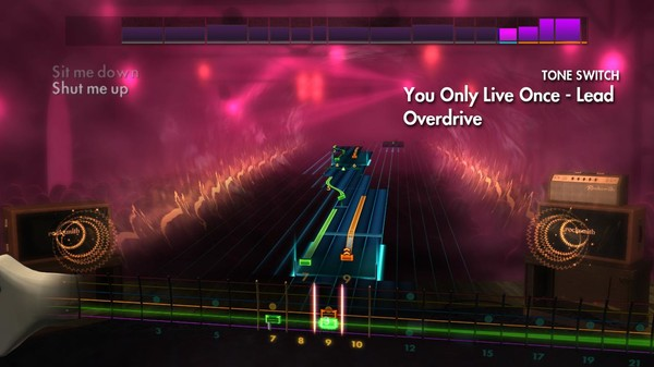 "Скриншот №1 к Rocksmith® 2014 Edition – Remastered – The Strokes - ""You Only Live Once"""