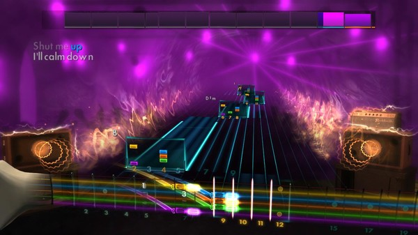 "Скриншот №3 к Rocksmith® 2014 Edition – Remastered – The Strokes - ""You Only Live Once"""