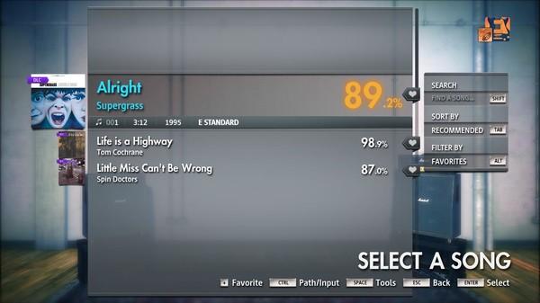 """Скриншот №4 к Rocksmith® 2014 Edition – Remastered – Supergrass - """"Alright"""""""