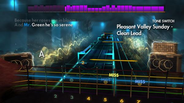 "Скриншот №1 к Rocksmith® 2014 Edition – Remastered – The Monkees - ""Pleasant Valley Sunday"""