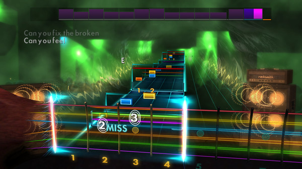 "Скриншот №3 к Rocksmith® 2014 Edition – Remastered – Bring Me the Horizon - ""Can You Feel My Heart"""