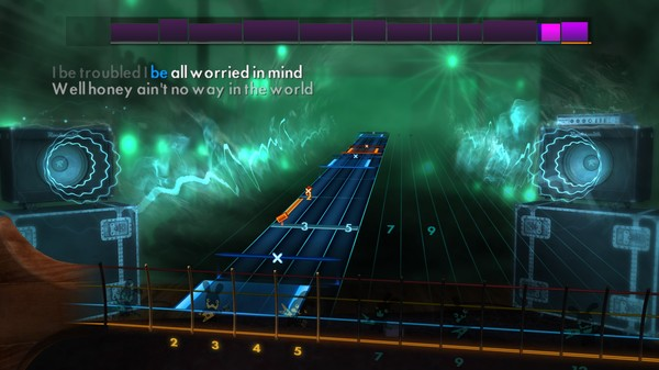 "Скриншот №1 к Rocksmith® 2014 Edition – Remastered – Muddy Waters - ""I Cant Be Satisfied"""