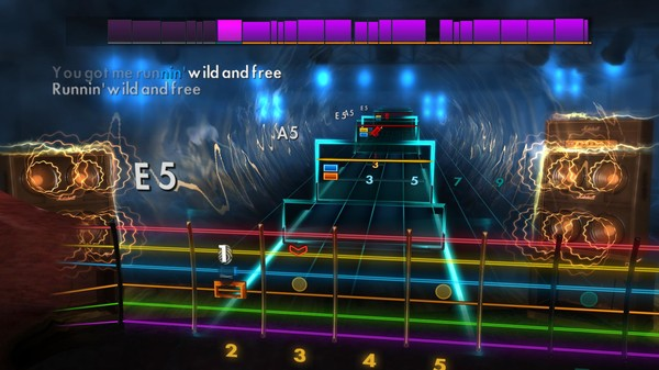 "Скриншот №2 к Rocksmith® 2014 Edition – Remastered – Airbourne - ""Runnin Wild"""