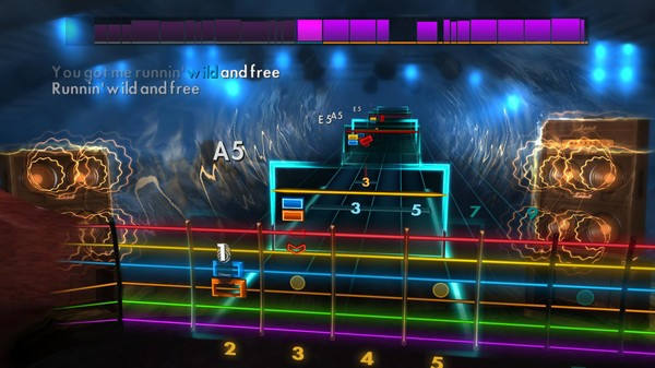 "Скриншот №5 к Rocksmith® 2014 Edition – Remastered – Airbourne - ""Runnin Wild"""