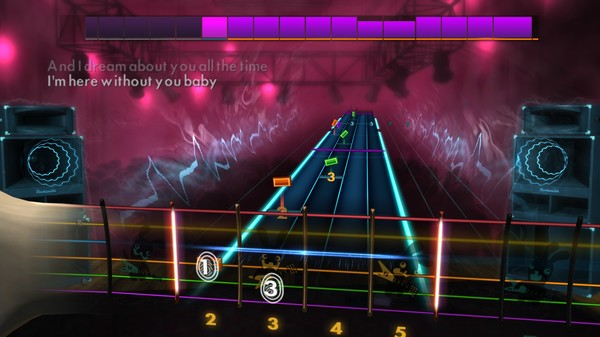 """Скриншот №4 к Rocksmith® 2014 Edition – Remastered – 3 Doors Down - """"Here Without You"""""""