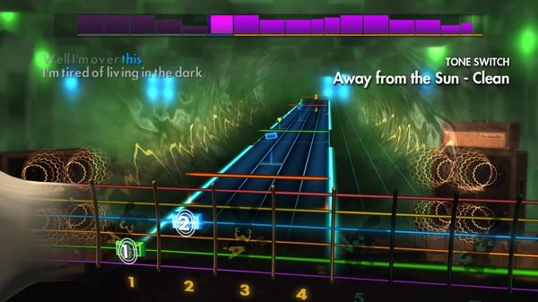 "Скриншот №2 к Rocksmith® 2014 Edition – Remastered – 3 Doors Down - ""Away from the Sun"""