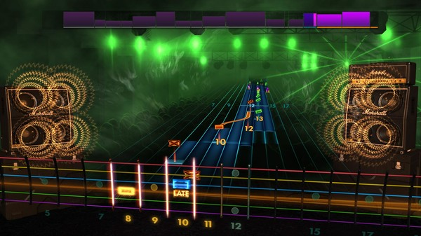 Скриншот №4 к Rocksmith® 2014 Edition – Remastered – 80s Mix Song Pack IV