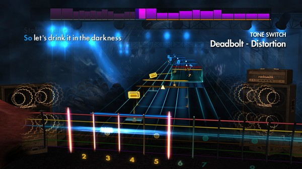 "Скриншот №3 к Rocksmith® 2014 Edition – Remastered – Thrice - ""Deadbolt"""