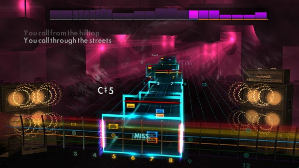 "Скриншот №2 к Rocksmith® 2014 Edition – Remastered – Thrice - ""Deadbolt"""
