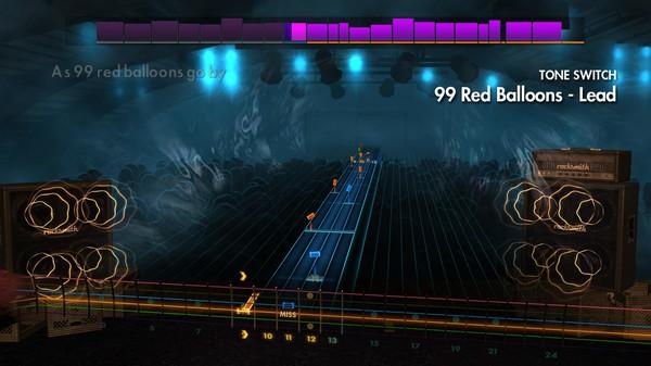 "Скриншот №5 к Rocksmith® 2014 Edition – Remastered – Goldfinger - ""99 Red Balloons"""