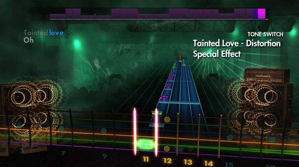 "Скриншот №1 к Rocksmith® 2014 Edition – Remastered – Marilyn Manson - ""Tainted Love"""