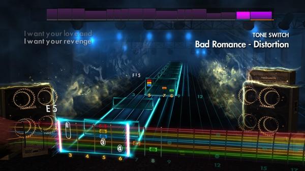 """Скриншот №2 к Rocksmith® 2014 Edition – Remastered – Halestorm - """"Bad Romance"""""""