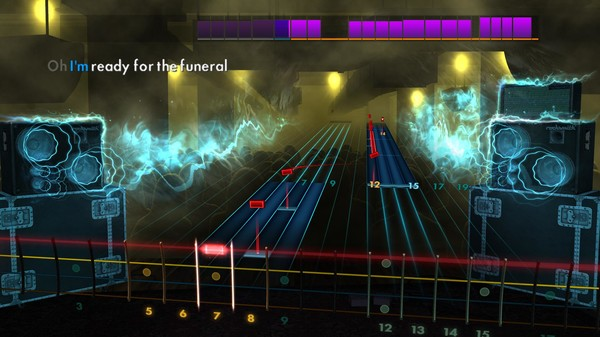 "Скриншот №4 к Rocksmith® 2014 Edition – Remastered – Band of Horses - ""The Funeral"""