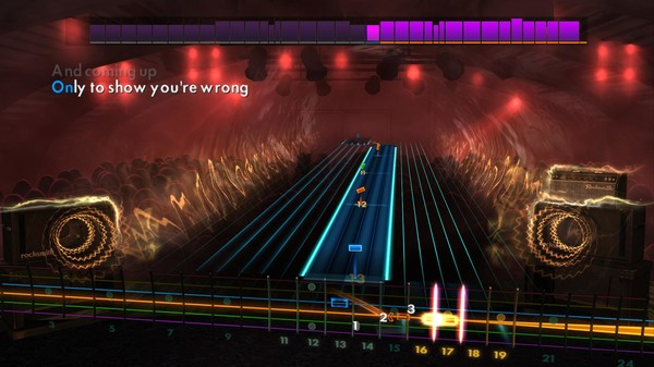 "Скриншот №3 к Rocksmith® 2014 Edition – Remastered – Band of Horses - ""The Funeral"""