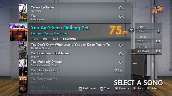 """Скриншот №2 к Rocksmith® 2014 Edition – Remastered – Bachman-Turner Overdrive - """"You Ain't Seen Nothing Yet"""""""
