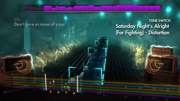 "Скриншот №2 к Rocksmith® 2014 Edition – Remastered – Elton John - ""Saturday Nights Alright For Fighting"""