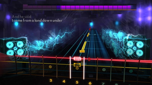 "Скриншот №3 к Rocksmith® 2014 Edition – Remastered – Colin Hay of Men at Work - ""Down Under 2012"""