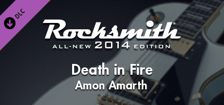 "Rocksmith® 2014 Edition – Remastered – Amon Amarth - ""Death in Fire"""