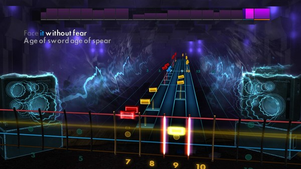 "Скриншот №2 к Rocksmith® 2014 Edition – Remastered – Amon Amarth - ""Death in Fire"""