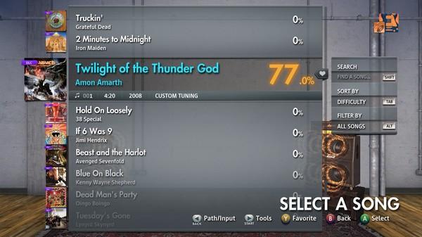 "Скриншот №3 к Rocksmith® 2014 Edition – Remastered – Amon Amarth - ""Twilight of the Thunder God"""