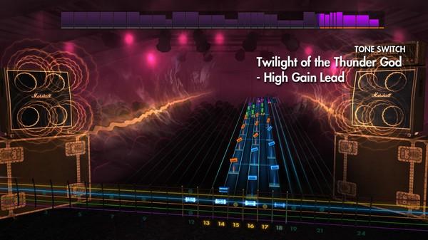 "Скриншот №1 к Rocksmith® 2014 Edition – Remastered – Amon Amarth - ""Twilight of the Thunder God"""