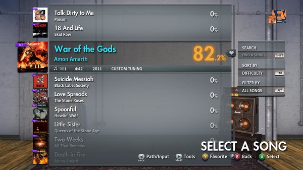"Скриншот №1 к Rocksmith® 2014 Edition – Remastered – Amon Amarth - ""War of the Gods"""
