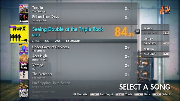 "Скриншот №5 к Rocksmith® 2014 Edition – Remastered – NOFX - ""Seeing Double at the Triple Rock"""