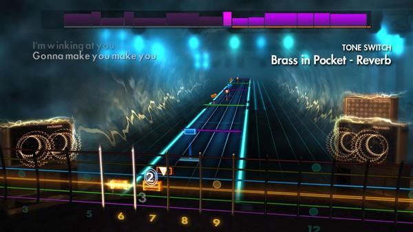 """Скриншот №1 к Rocksmith® 2014 Edition – Remastered – The Pretenders - """"Brass in Pocket"""""""