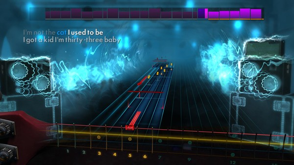 """Скриншот №1 к Rocksmith® 2014 Edition – Remastered – The Pretenders - """"Middle of the Road"""""""