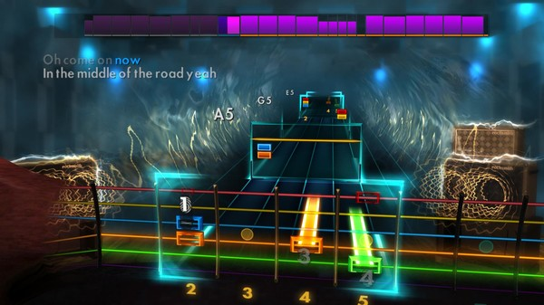 """Скриншот №3 к Rocksmith® 2014 Edition – Remastered – The Pretenders - """"Middle of the Road"""""""