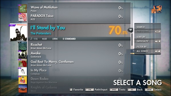 """Скриншот №3 к Rocksmith® 2014 Edition – Remastered – The Pretenders - """"I'll Stand by You"""""""