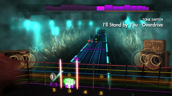 """Скриншот №1 к Rocksmith® 2014 Edition – Remastered – The Pretenders - """"I'll Stand by You"""""""