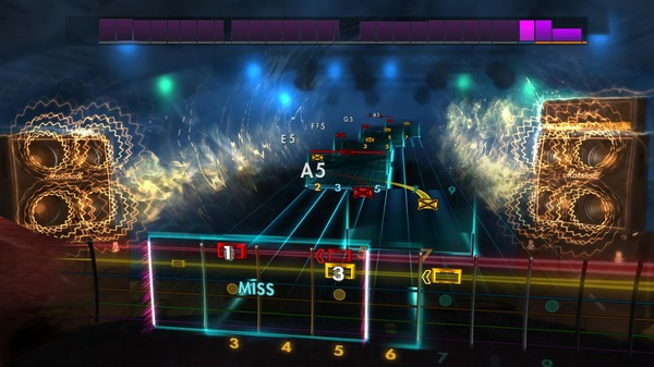 "Скриншот №5 к Rocksmith® 2014 Edition – Remastered – Trans-Siberian Orchestra - ""Wizards in Winter"""
