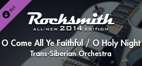 "Rocksmith® 2014 Edition – Remastered – Trans-Siberian Orchestra - ""O Come All Ye Faithful / O Holy Night"""
