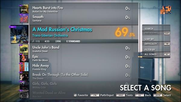"Скриншот №4 к Rocksmith® 2014 Edition – Remastered – Trans-Siberian Orchestra - ""A Mad Russians Christmas"""