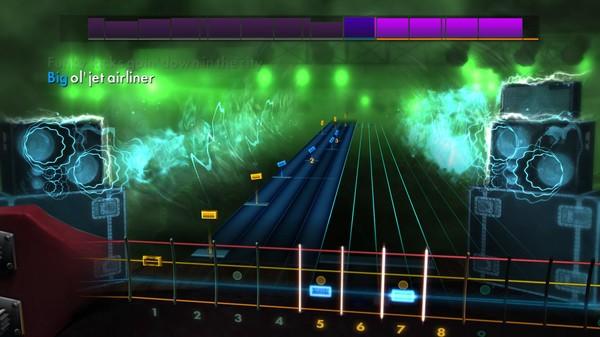 """Скриншот №1 к Rocksmith® 2014 Edition – Remastered – Steve Miller Band - """"Jet Airliner"""""""