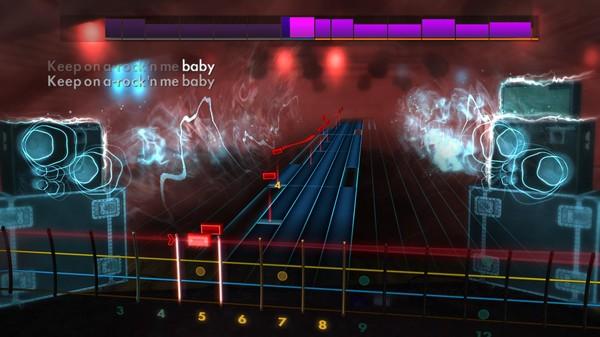 "Скриншот №3 к Rocksmith® 2014 Edition – Remastered – Steve Miller Band - ""Rockn Me"""