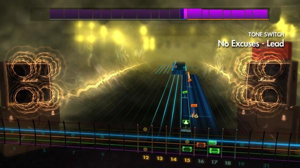 """Скриншот №5 к Rocksmith® 2014 Edition – Remastered – Alice in Chains - """"No Excuses"""""""