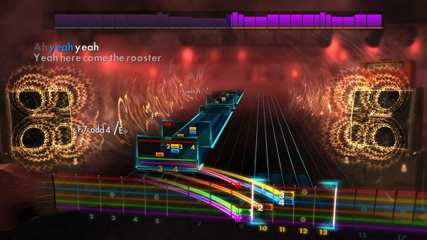 "Скриншот №1 к Rocksmith® 2014 Edition – Remastered – Alice in Chains - ""Rooster"""