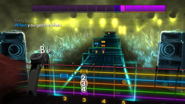 "Скриншот №1 к Rocksmith® 2014 Edition – Remastered – Johnny Cash - ""Get Rhythm"""